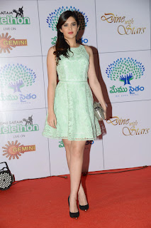 Deeksha Seth looks beutiful in Short Dress at Memusaitham Event