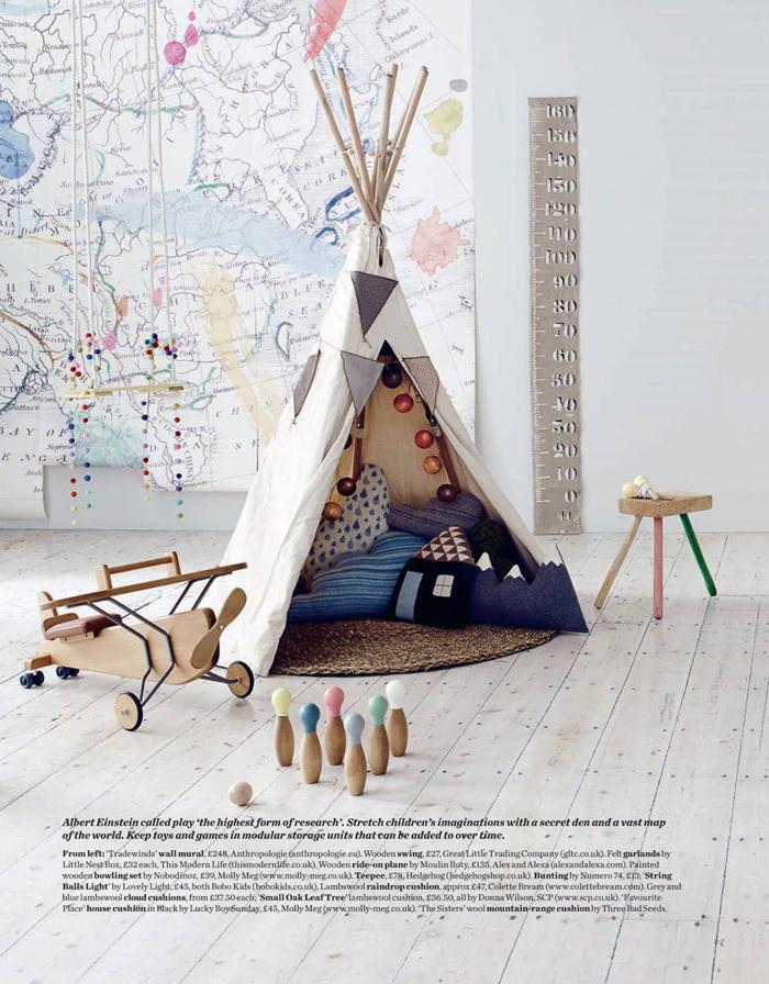 modern children's room's - styling Alex Kristal  photo Jake Curtis