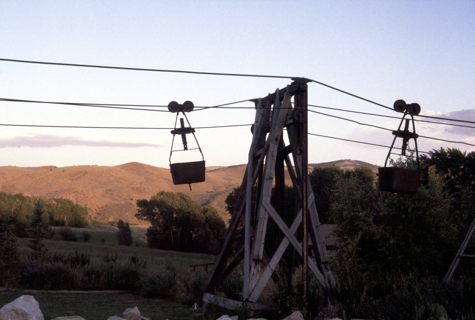 aerial ore tramway
