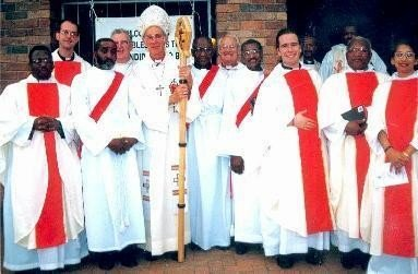 A photo of all the ordinands on my ordination day.