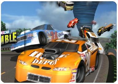 download nascar rumble pc merupakan sebuah game balap mobil nascar