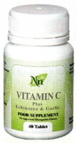 Vitamin C Plus Echinacea Garlic   Memberikan tiga dari gizi penunjang kekebalan tubuh dan meningkatkan sistem imunitas untuk melawan infeksi bakteri, virus dan jamur. Tindakan detoksifikasinya dapat mengurangi beban toksin yang berlebihan sehingga membentuk daya tahan terhadap alergi.