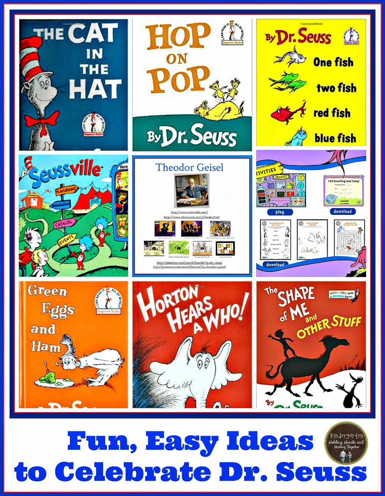 There Are So Many Great Dr Seuss Books I Am Going To Share Some Easy Fun Ideas Use For A Few Of Them We Will Be Celebrating All Week