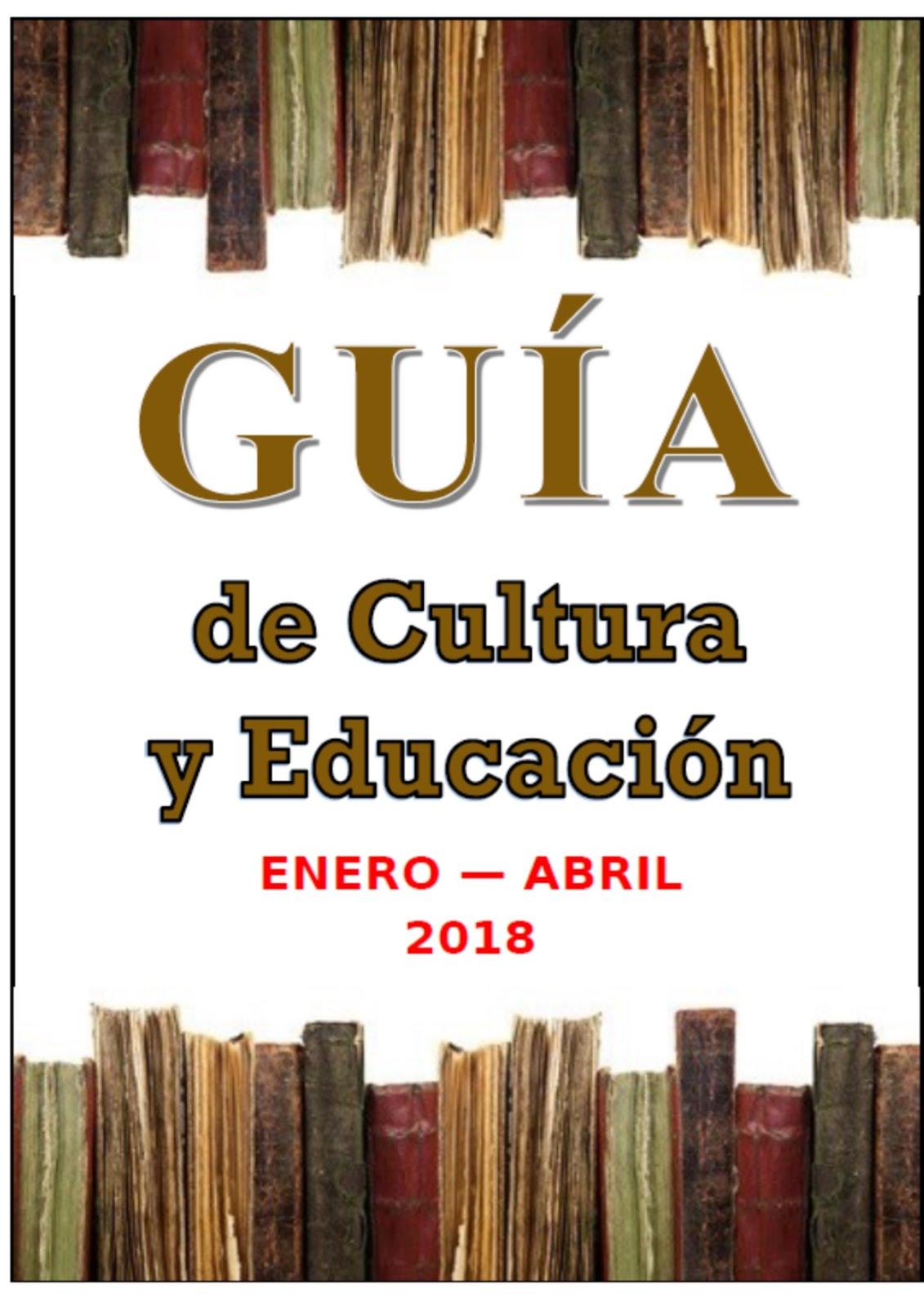 GUÍA DE CULTURA Y EDUCACIÓN