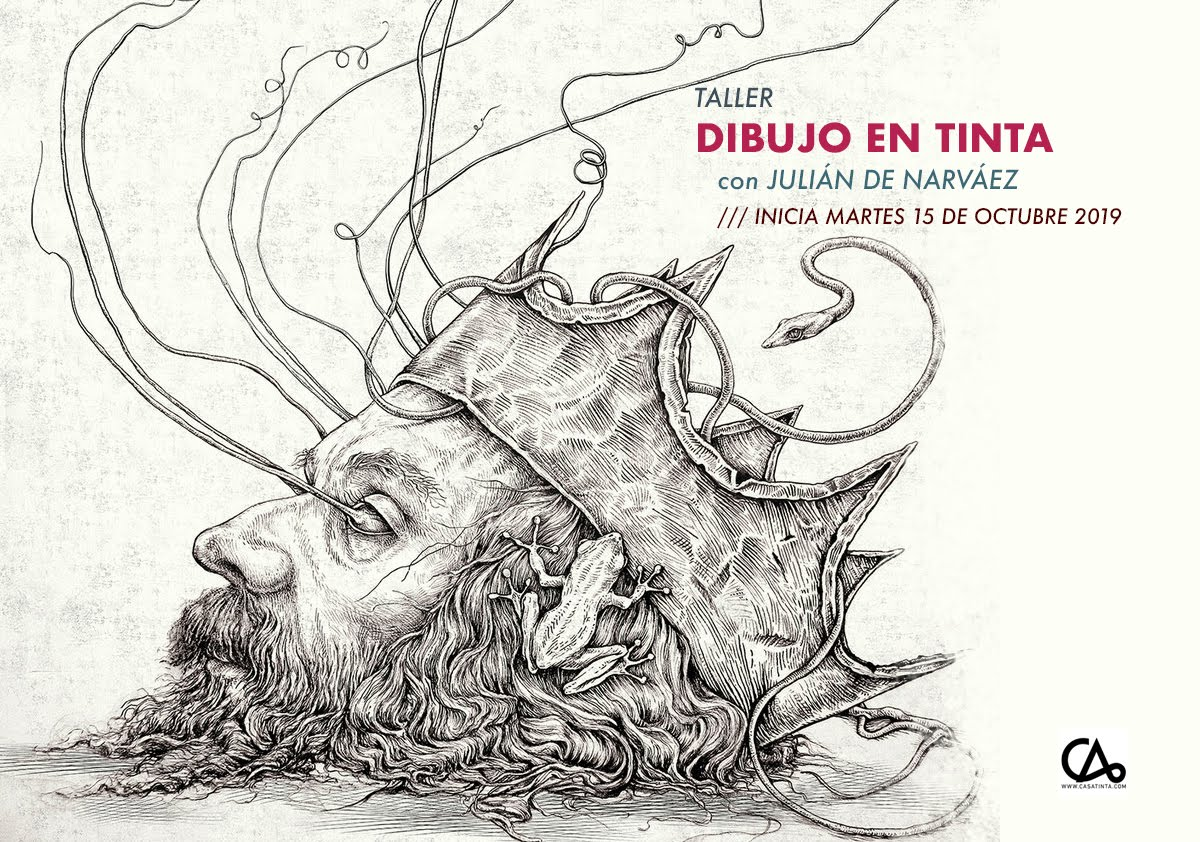 DIBUJO EN TINTA // 15 de oct