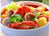 Sup Udang Jamur Segar