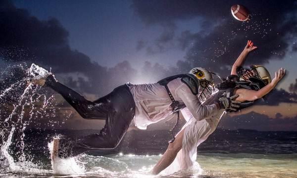 pasangan pecinta bola tangan