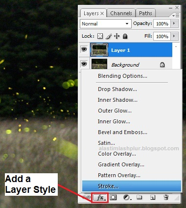 Add a Layer Style
