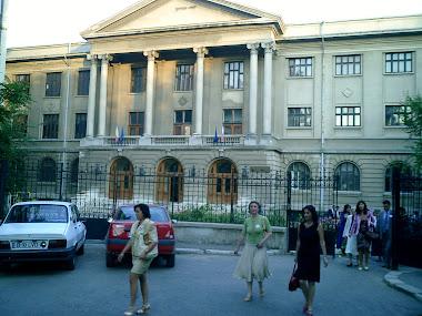 Revedere, la 20 de ani dupa liceu, iulie 2006, Liceul Nicolae Balcescu, CNSS