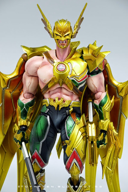 10 Action Figure Square Enix DC Comics Variant Play Arts Kai Hawkman No