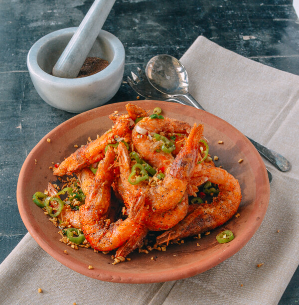 Salt and Pepper Shrimp 2 | Chinese Recipes