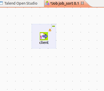 talend how to keep components cleanly