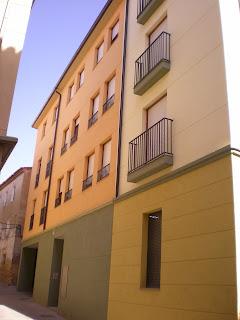 Detalle fachada de Calatayud