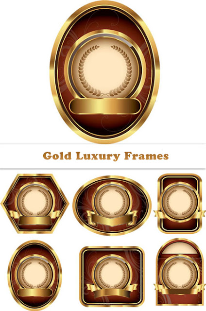 Golden Luxury Frames
