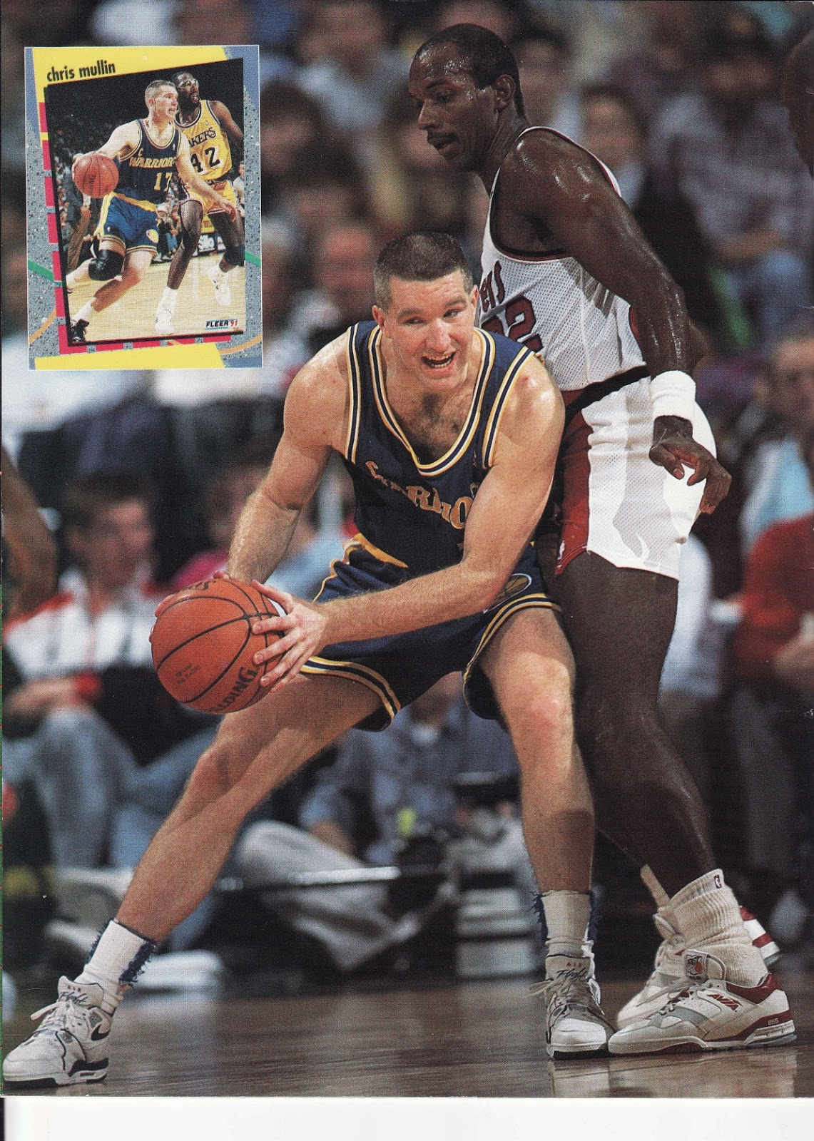 Chris Mullin from Beckett Basketball Monthly