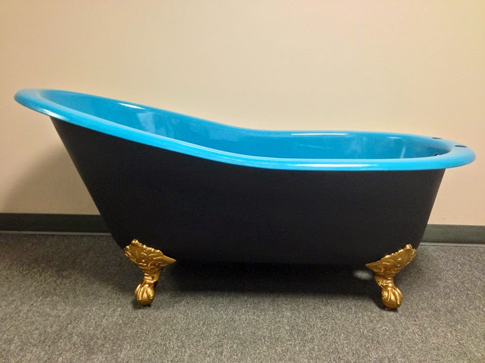 today s new cast iron porcelain clawfoot tubs are better