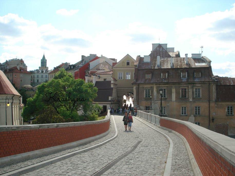 Trakt Lubelski, Lublin, Zamek,  Lublin, przejście do zamku, stare miasto Lublin, old town, old town Lublin, zabytki Lublin