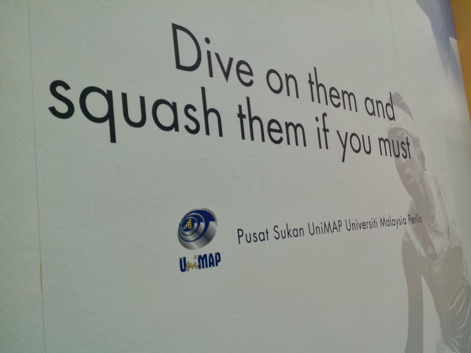 UniMAP Squash