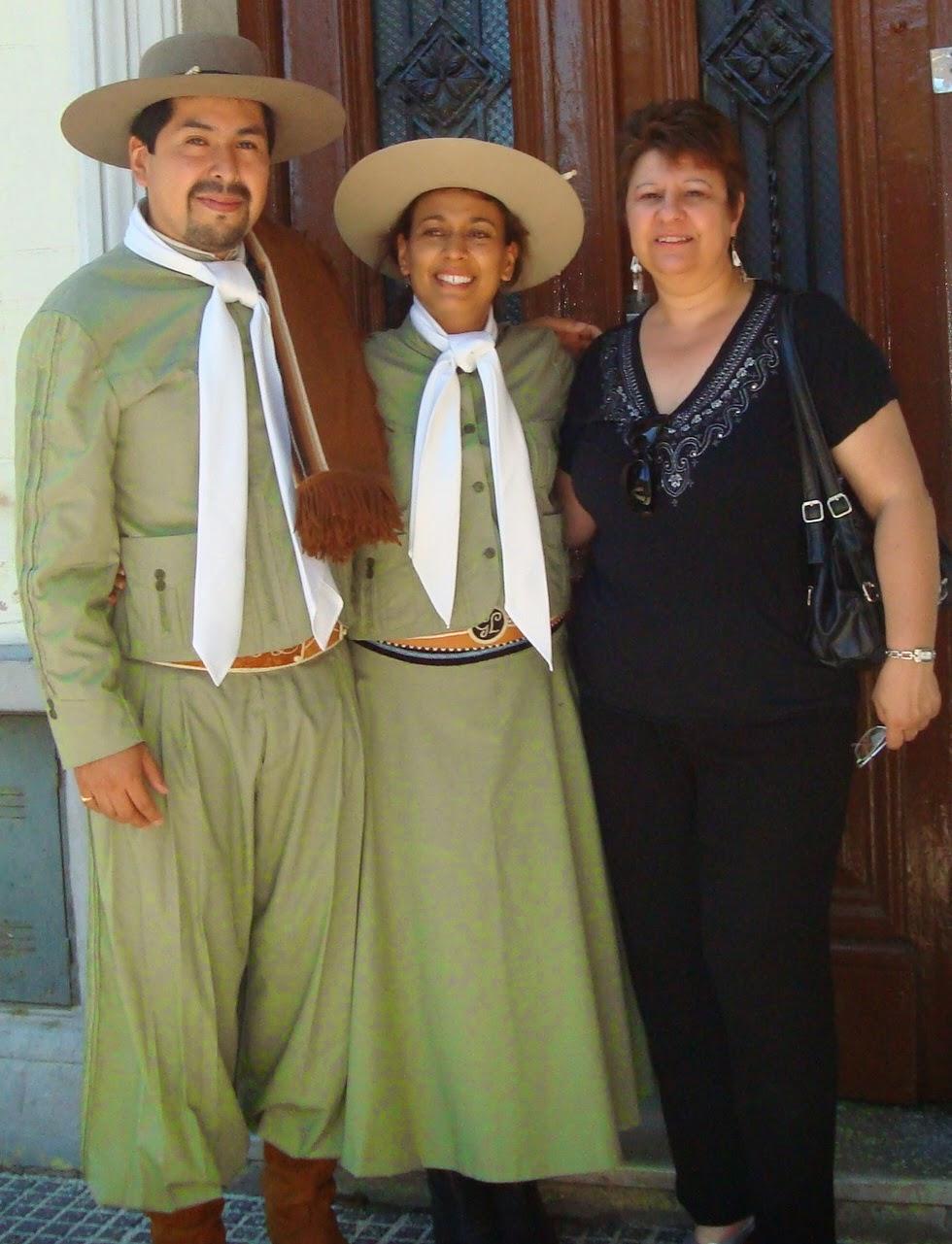 Hernán Luna y Gabriela