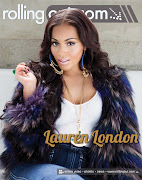 Lauren London on cover of Rolling Out Magazine