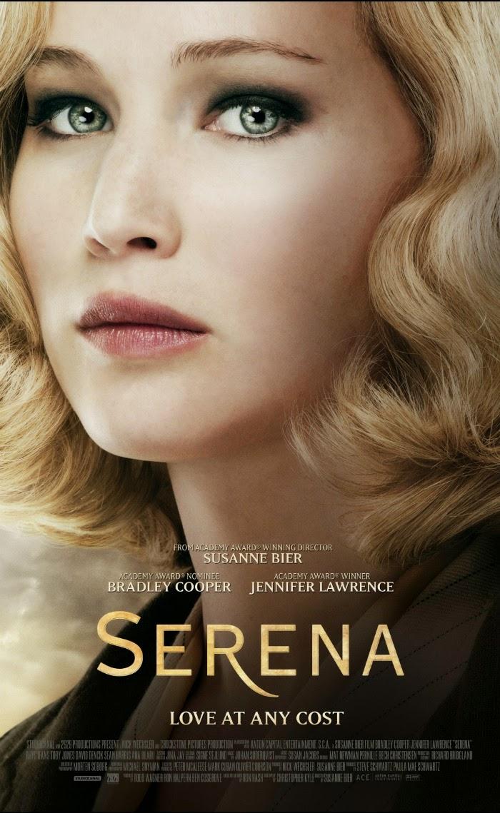 Jennifer Lawrence Serena Poster