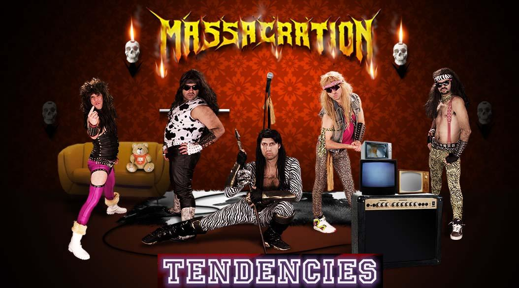 Campanha para o Massacration tocar no Tendencies Rock