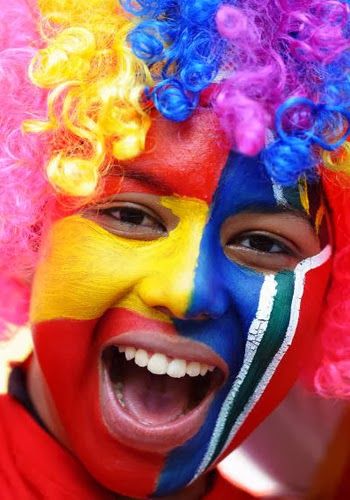 World Cup 2014 Face Painting Ideas