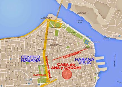 ANA y CHUCHI Mapa