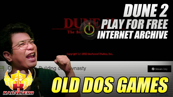 Old DOS Games, Play Dune 2 Free, Internet Archive