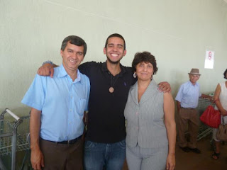 Volta do Intercambiário Felipe