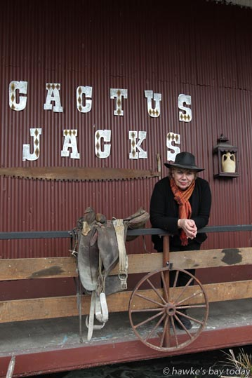 Lee Walker, owner of Cactus Jacks, a soon-to-be-opened western-themed venue in Waipawa, Central Hawke's Bay. photograph
