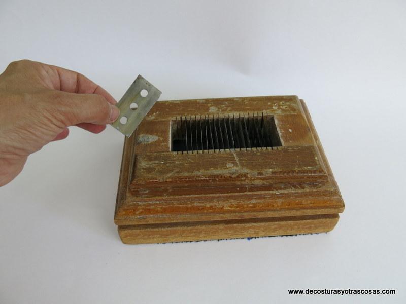 como se afilan los jaboncillos de sastre