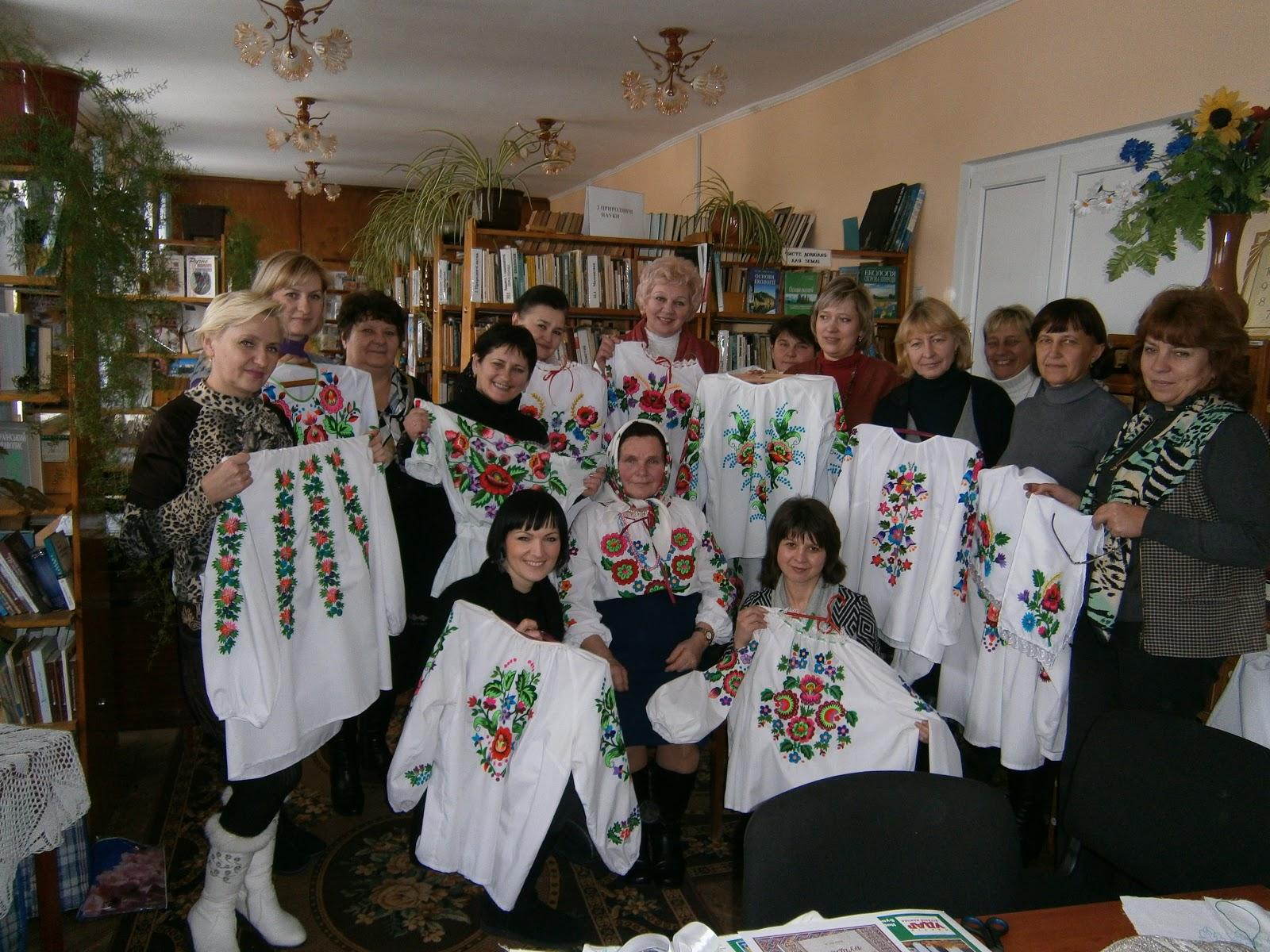 Майстер клас української вишивки