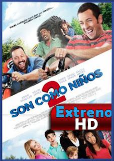 Como Si Fueran Niños 2 | 3gp/Mp4/DVDRip Latino HD Mega