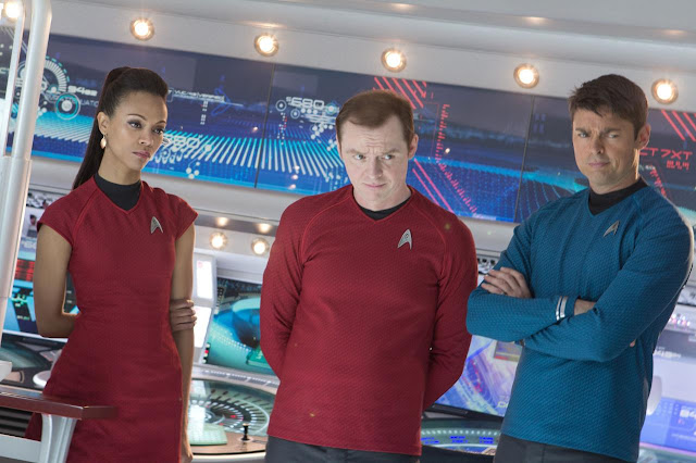 Star Trek Into Darkness - Uhura Scotty Spock - 001 | A Constantly Racing Mind