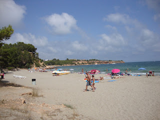 Cap Roig Beach people