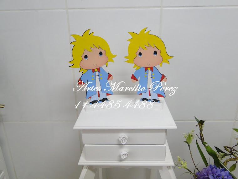 Display Pequeno Principe de mesa R$ 30,00 cada e de Chão R$ 120,00 com 80 de altura