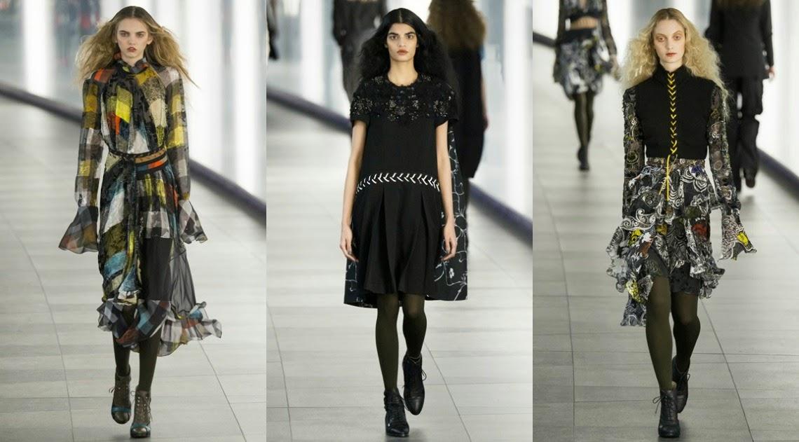 Preen by Thornton Bregazzi AW15 London Fashion Week