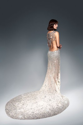 Ralph & Russo 230 000 £ Swarovski Crystal Gown at Harrods