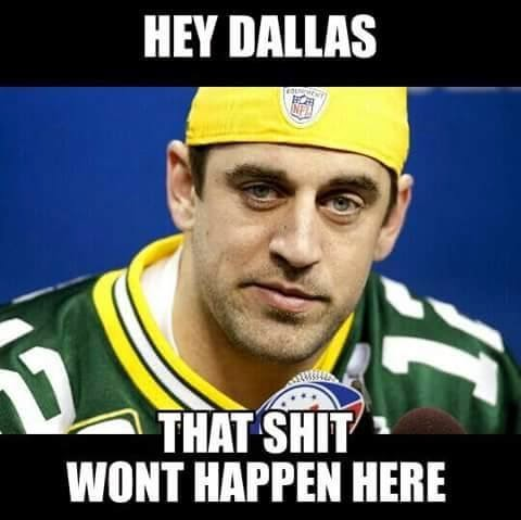 Hey dallas, that shit wont happen here