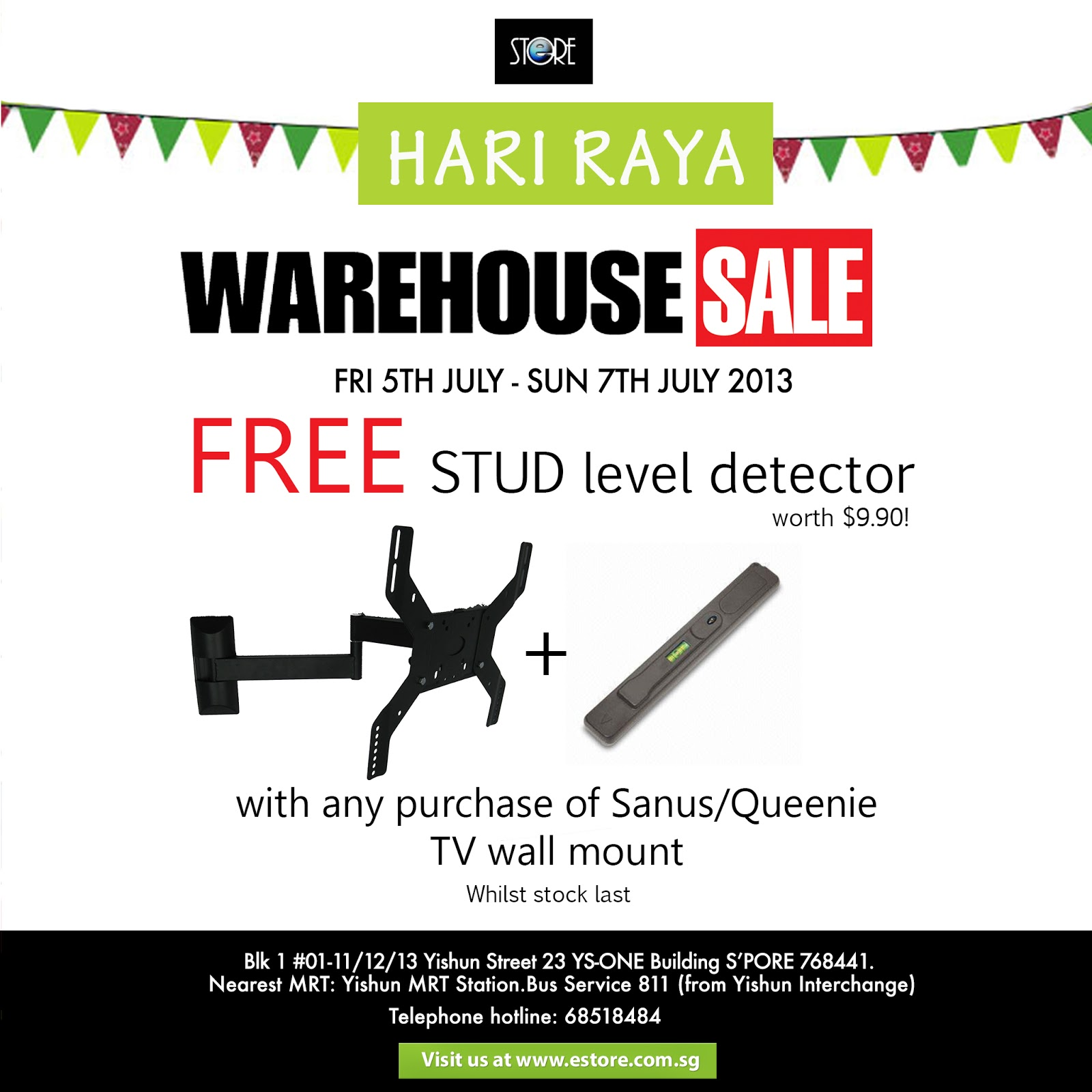 Estore Singapore Promotions Check Out Our Tv Wall Mount