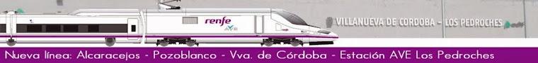 Nuevo servicio de transporte público que conecta la estación de AVE de Villanueva de Córdoba