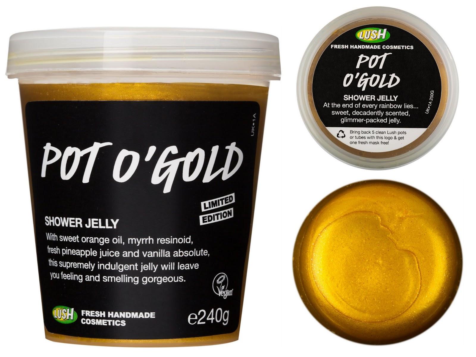Lush Pot O'Gold Dusch Jelly Ostern 2015