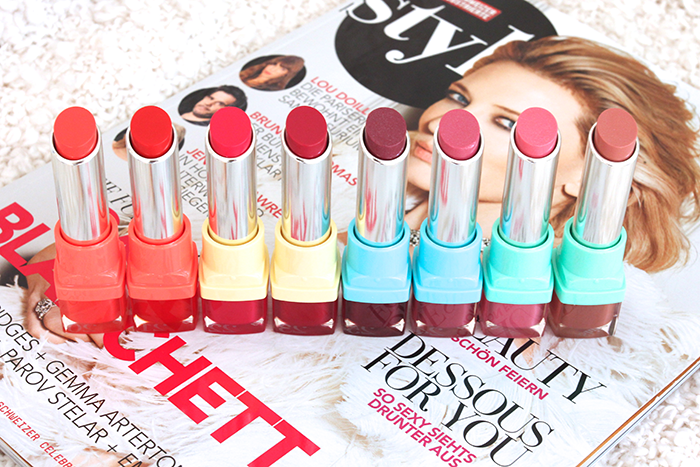 Bourjois Shine Edition Lipsticks