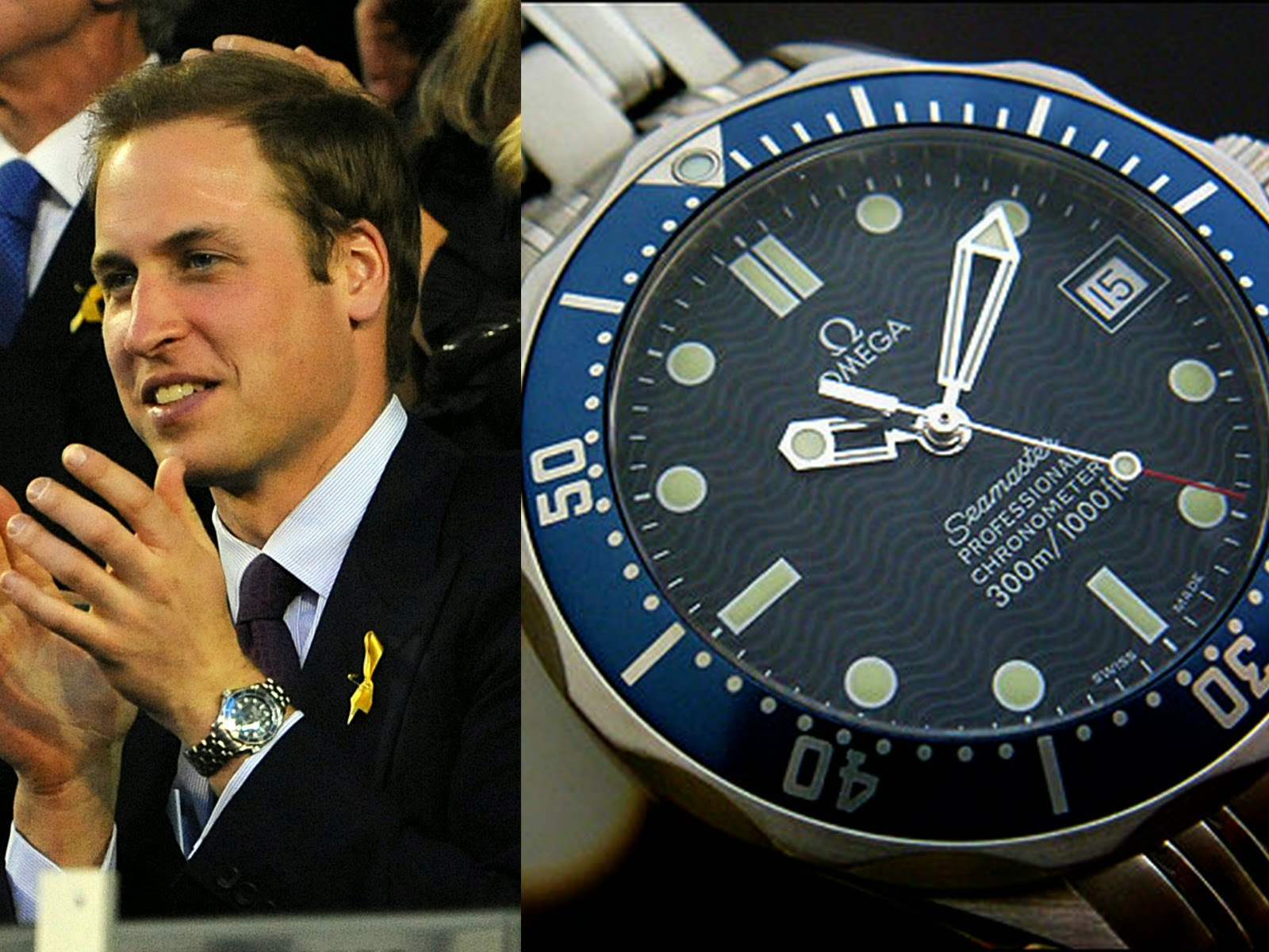 Swiss Design Watches Prince William With Omega