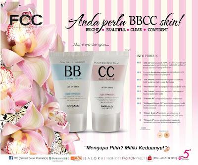 Pakej Combo BB dan CC Cream