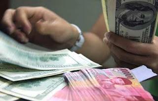 Nilai Kurs US Dollar Tukar Rupiah hari ini