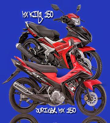 Perbedaan Antara Yamaha Jupiter MX150 Dengan Yamaha MX King 150