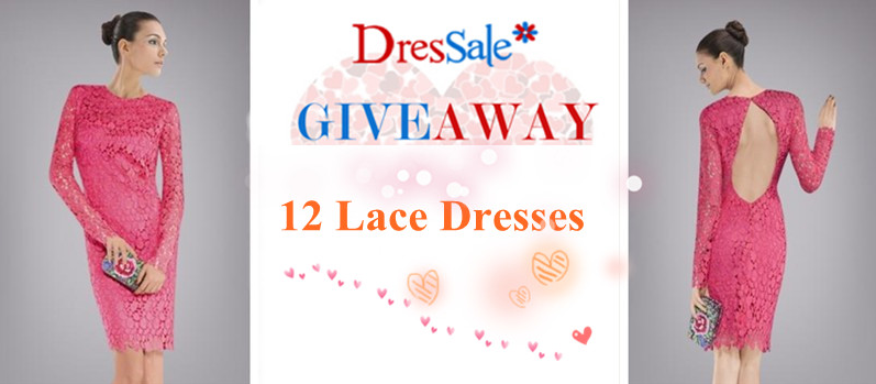 GIVEAWAY in collaboration with DRESSALE.