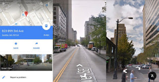 street view iphone e android